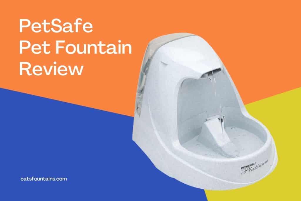 PetSafe Drinkwell Platinum Pet Fountain Review